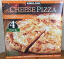 【在庫限り】【COSTCO】コストコ【KIRKLAND】(カークランド)チーズピザ 1.92kg(4.81g×4枚)(冷凍食品)【送料無料】