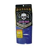 DANGER DEATH BODY TOWEL ブルー