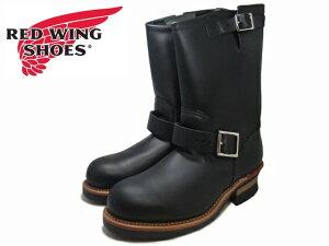 """レッドウィング エンジニアブーツ RED WING 2268 11"""" ENGINEER BOOT ブラック 【ポイント15倍!】【ケア用品2点プレゼント!】REDWING レッド・ウィング レッドウイング メンズ ブーツ men's boots"""