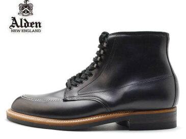 オールデン インディ ブーツ ALDEN 401 INDY BOOTS ブラック MADE IN USA アメリカ製 【送料無料!】メンズ ビジネス ドレス
