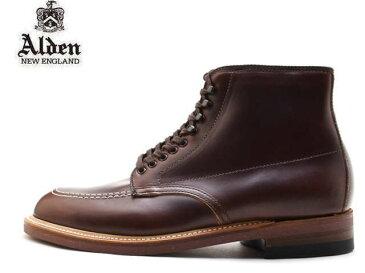 オールデン インディ ブーツ ALDEN 403 INDY BOOTS クロムエクセル DARK BROWN MADE IN USA アメリカ製 【送料無料!】メンズ ビジネス ドレス