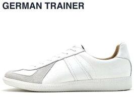 ジャーマントレーナーGERMANTRAINER42000ホワイト/ホワイトメンズレディーススニーカー