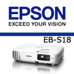 エプソン EB-S18【あす楽対応_関東】エプソン EB-S18 ビジネス プロジェクター 【送料・代引...