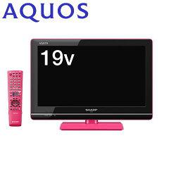 【送料無料】シャープ デジタルハイビジョン液晶テレビ AQUOS(アクオス) 19V型 LC-19K5-P(ピ...