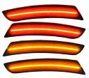 LL-GM-SMB-SM01 スモークレンズ LEDフロントリアサイドマーカーChevrolet Camaro カマロ(6代目 2016-2018)( カスタム 改造 パーツ led 車 サイドマーカー アクセサリー カー カスタムパーツ ドレスアップ 車用 サイド マーカー )