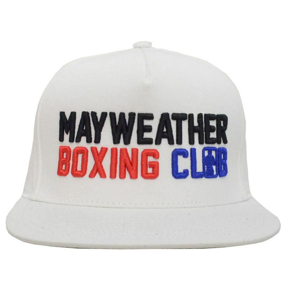 メンズ帽子, キャップ may-h005-wh MAYWEATHER BOXING CLUB MAYWEATHER SPORTS( tmt WBC WBA the money team )