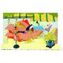 グリーティングカード 飛び出す ポップアップ pop up 立体カード 和風 和紙 海外【F45-42】王朝 絵巻 姫 殿 十二単 源氏物語 宮廷 平安 清少納言 紀貫之 多目的 メッセージカード バースデーカード ウェディングカード ポストカード 絵葉書 福井朝日堂 京都 母の日 父の日