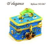 deleganceトラベルバックジュエリーボックス/トリンケットボックス/プチギフト/プレゼント/メルヘン/artform/objetd'art