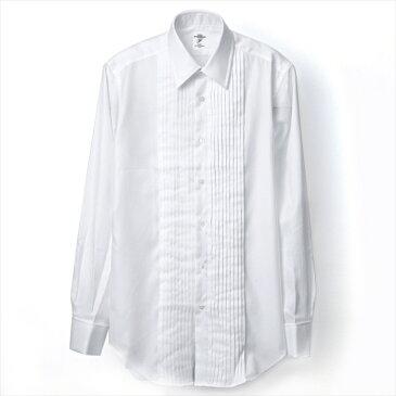 FITZGERALD meets HITOYOSHI/レギュラーカラー(フォーマル)白ピンオックスフォード(ホワイト)フェアファクス ネクタイ シャツ フィッツジェラルド 人吉 綿100% 日本製 おしゃれ プレゼント 結婚式 長さ (送料無料)