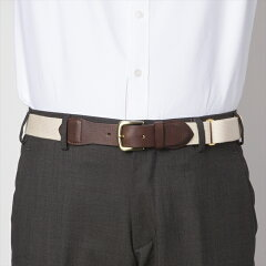Fitzgerald Preppy Belt 18SSBL001: Brown - Natural