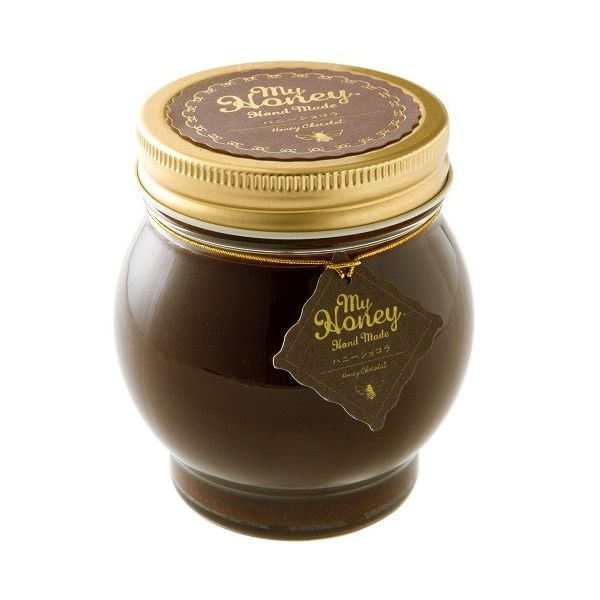 MYHONEYマイハニー有機ハニーショコラ200g オーガニック蜂蜜・ココアパウダー使用 チョコ生はちみつ高級感贅沢ギフトペース