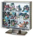 コレクションケース 卓上 フィギュアケース ミニカーケース ディスプレイケース 伊勢藤 ISETO ST606スタンドタイプ