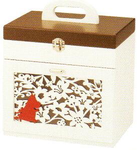 救急箱 木製救急箱 裁縫箱 キュアメイト ムーミンハウスタイプ kc-3954