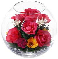 ドライフラワーボトルフラワーレンデフロール開業祝い新築祝い還暦祝い定年祝い母の日花ギフト