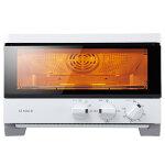 sirocaハイブリッドオーブントースターST-G111ホワイト[0.2秒瞬間発熱/油無しで揚げ物調理/コンベクション/惣菜温め/レシピ付]