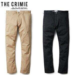 """【CRIMIE】クライミー/""""LEX STRETCH CHINO PANTS"""" CR01-01K5-PL10 レックス チノ パンツ チノパン ロングパンツ メンズ レディース ボトムス A"""