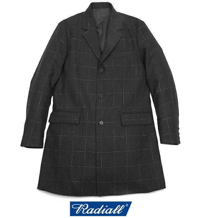 メンズファッション, コート・ジャケット SALE40OFFRADIALLMONTE CARLO COAT RAD-16AW-JK021 (BLACK)