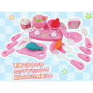 かわいいピンクのわくわくキッチンセット【クッキングセット、ままごとセット】