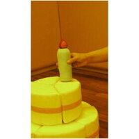 小型デコレーションケーキ【ぬいぐるみ】