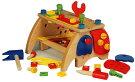 【送料無料】木製大工さんのベンチ【男の子、保育園、幼稚園】