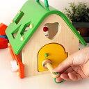 知育玩具 木のおもちゃ あそびのおうち ( 型はめ ボックス ) 森の遊び道具シリーズ 【 正規販売店 】 3
