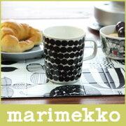 マリメッコ マグカップ SIIRTOLAPUUTARHA シイルトラプータルハ ラシィマット ブラック ホワイト