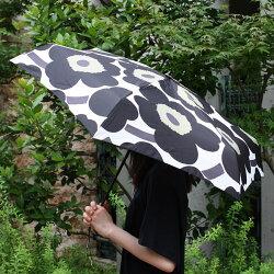 マリメッコ(marimekko)PIENIUNIKKO(ウニッコ傘傘コンパクト折りたたみ傘/ホワイト・ブラック【smtb-ms】.