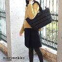 マリメッコ ( marimekko ) トートバッグ Milla / ブラック 【 ラッピング・のし