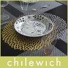 chilewich(チルウィッチ)ランチョンマットPRESSEDDAHLIA(プレスドダリア).