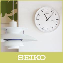 【】 SEIKO ( セイコー ) 電波時計STANDARD ANALOG CLOCK( スタンダード アナログクロック )Lサイズ / ホワイト ( KX308W )【RCP】.:ファンベリー北欧雑貨とマリメッコ