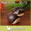 ぽれぽれ ( polepole ) 木製 置き物 えと シリーズ 『 たつ ( 辰 ) 』  【RCP】.