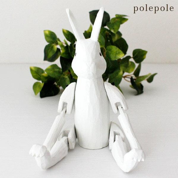 產品詳細資料,日本Yahoo代標|日本代購|日本批發-ibuy99|ぽれぽれ polepole 不思議の国のウサギ ホワイト Lサイズ .