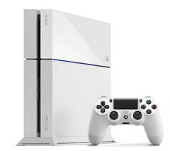 (PS4)プレイステーション4本体(グレイシャーホワイト)(PS4)プレイステーション4本体(グレイシャ...