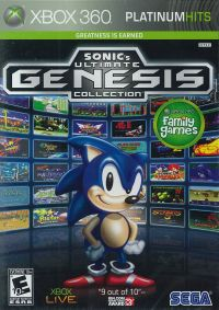 (360)SONIC's ULTIMATE GENESIS COLLECTION(PLATINUM HITS)(北米版)(メール便送料無料)(360)SON...