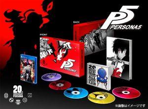 (PS4)ペルソナ5 20thアニバーサリー・エディション(ネコポス発送不可)(新品)(201…