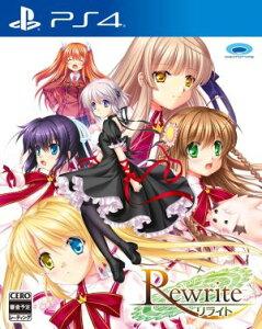 (ネコポス送料無料)(PS4)Rewrite(リライト)(初回特典付き)(新品)(2017年3…