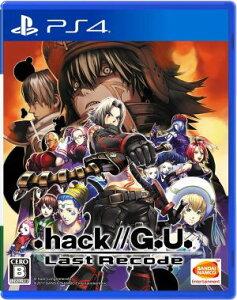 (ネコポス送料無料)(PS4).hack//G.U. Last Recode(新品)(2017…