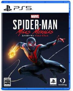 (送料無料)(PS5)Marvel's Spider-Man: Miles Morales(新品)(あす楽対応)