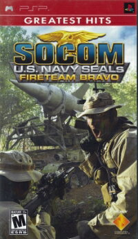 (PSP)SOCOM U.S. NAVY SEALS FIRETEAM BRAVO(GREATEST HITS)(北米版)(メール便送料無料)(PSP)SO...