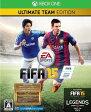 (XboxOne)FIFA15 ULTIMATE TEAM EDITION(ネコポス発送不可)(特典:15ゴールドパックス ダウンロードコード付き)(新品)(あす楽対応)