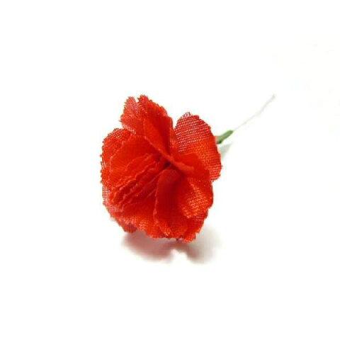 アウトレット造花 ミニカーネーション ミニ (1本) ラッピング 母の日 フラワー