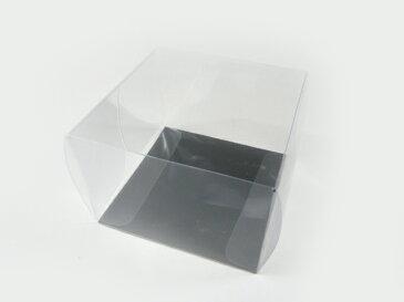 折りたたみコサージケース小(10cm×10cm×高さ7cm) 花材・アートフラワー・造花 コサージュを保管する透明なケース