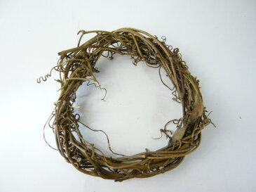 サンキライ ツイストリースN15cm 75981-000(1個) ナチュラル 天然素材 クリスマスの飾り 自然素材