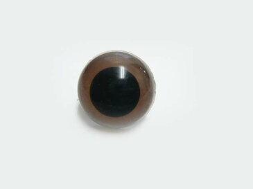 クリスタルアイ 18mm(ストレート)(1個) さし目・眼・鼻・手芸材料 ぬいぐるみ あみぐるみ プードル・クマ・ねこ