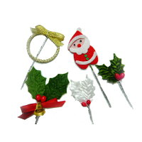 クリスマスケーキ ◆クリスマスの必須アイテム◆ケーキピック お試しバラエティセット(5点)