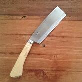 【送料無料】切れるよろこび 磨き 片刃鉈(なた) 165mm