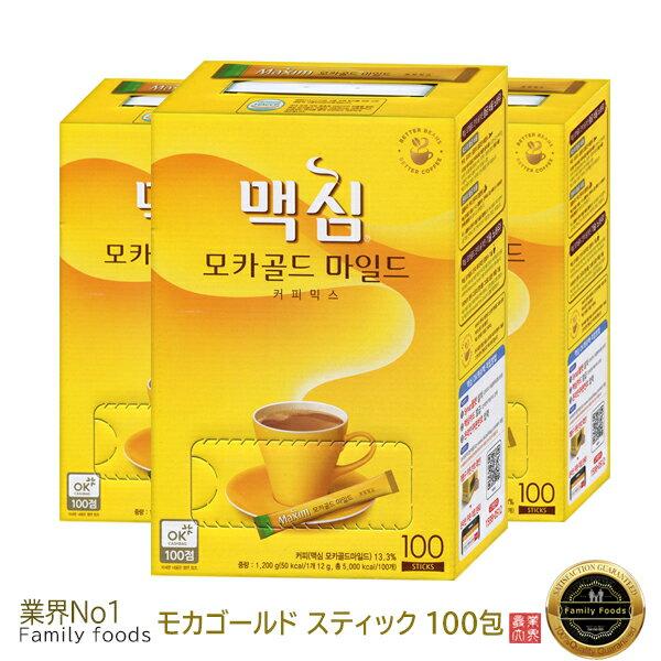 コーヒー, インスタントコーヒー Maxim mocha gold mix 12g100