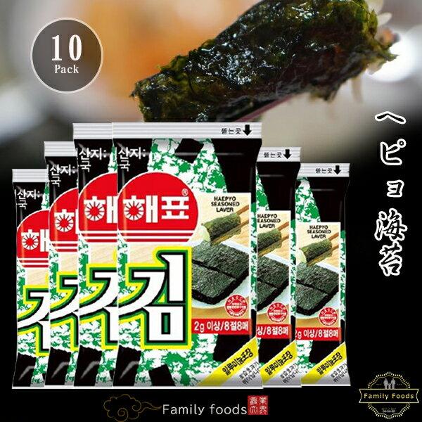 海苔, 韓国海苔 1(10)