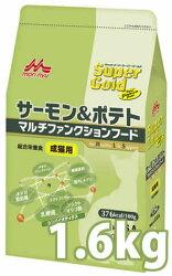 森乳サンワールドスーパーゴールドサーモン&ポテトマルチファンクションフード成猫用1.6kg
