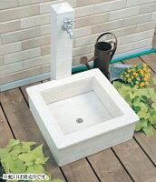 立水栓/モ・エット(ホワイト)